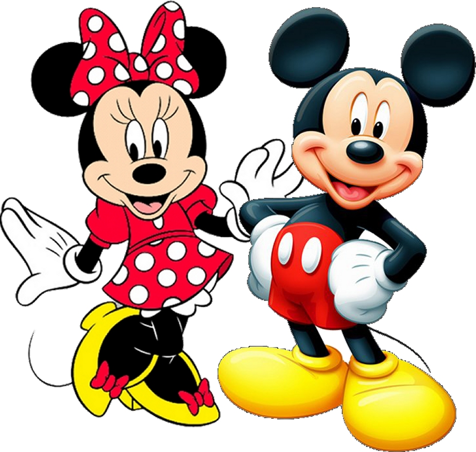 Minnie and Mickey in Red Free Birthday Printables  Oh My Fiesta in english