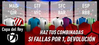 sportium Combinada Con Seguro Copa Rey 22 enero 2019