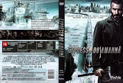 Filme: Expresso do Amanhã (Snowpiercer) DVD Capa