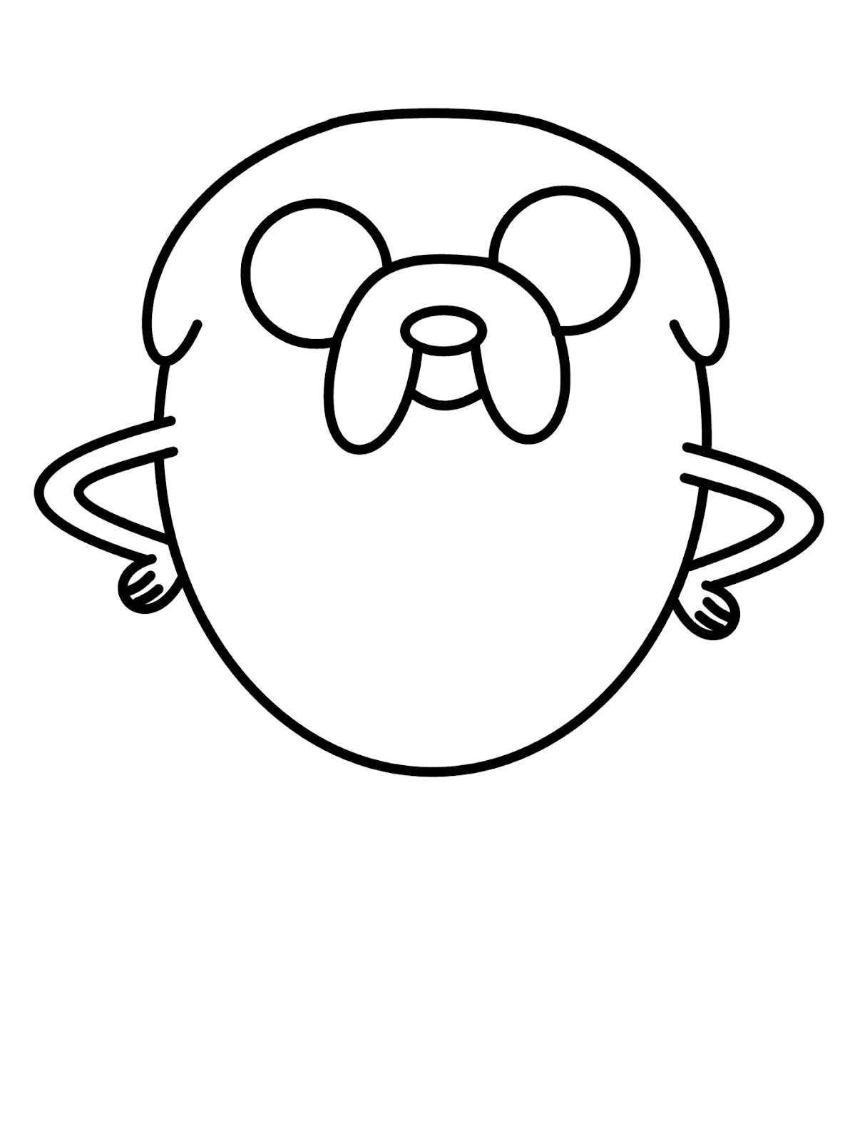 How To Draw Cartoons Jake The Dog