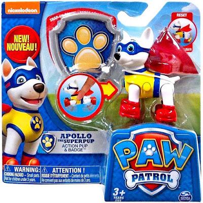 JUGUETES - LA PATRULLA CANINA  Apollo El Super Cachorro : Figura - Muñeco  SUPER PUPS | SERIE CLAN | Paw Patrol  Comprar en Amazon España