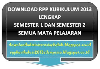 RPP IPS Kelas 8 Kurikulum 2013 Semester 1 dan 2