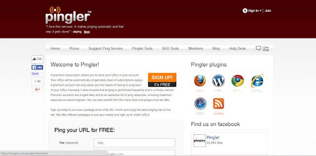 Tingkatkan Traffic Blog dengan Pingler.com !