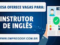 Emprego para  Instrutor de Inglês - 08.04.19