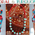 Coral & Turquoise-> Inspired by Glam Chameleon Jewelry