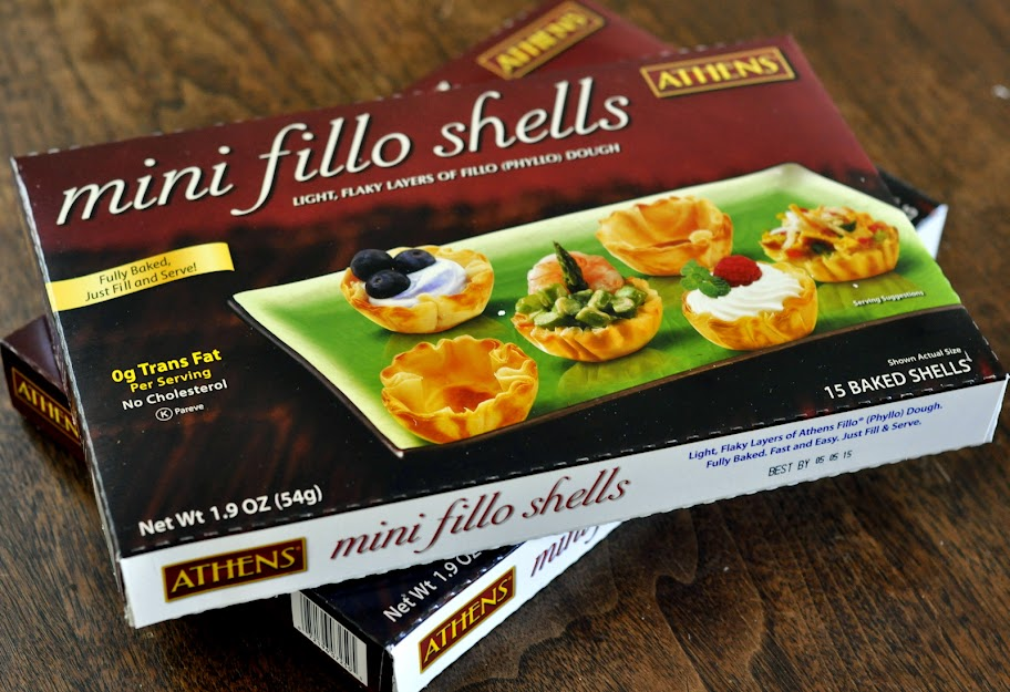 Athens Mini Fillo Shells | Taste As You Go