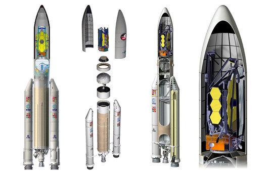 Teleskop, JWST, Nasa, Esa, space, hubble, moon, james webb, rocket