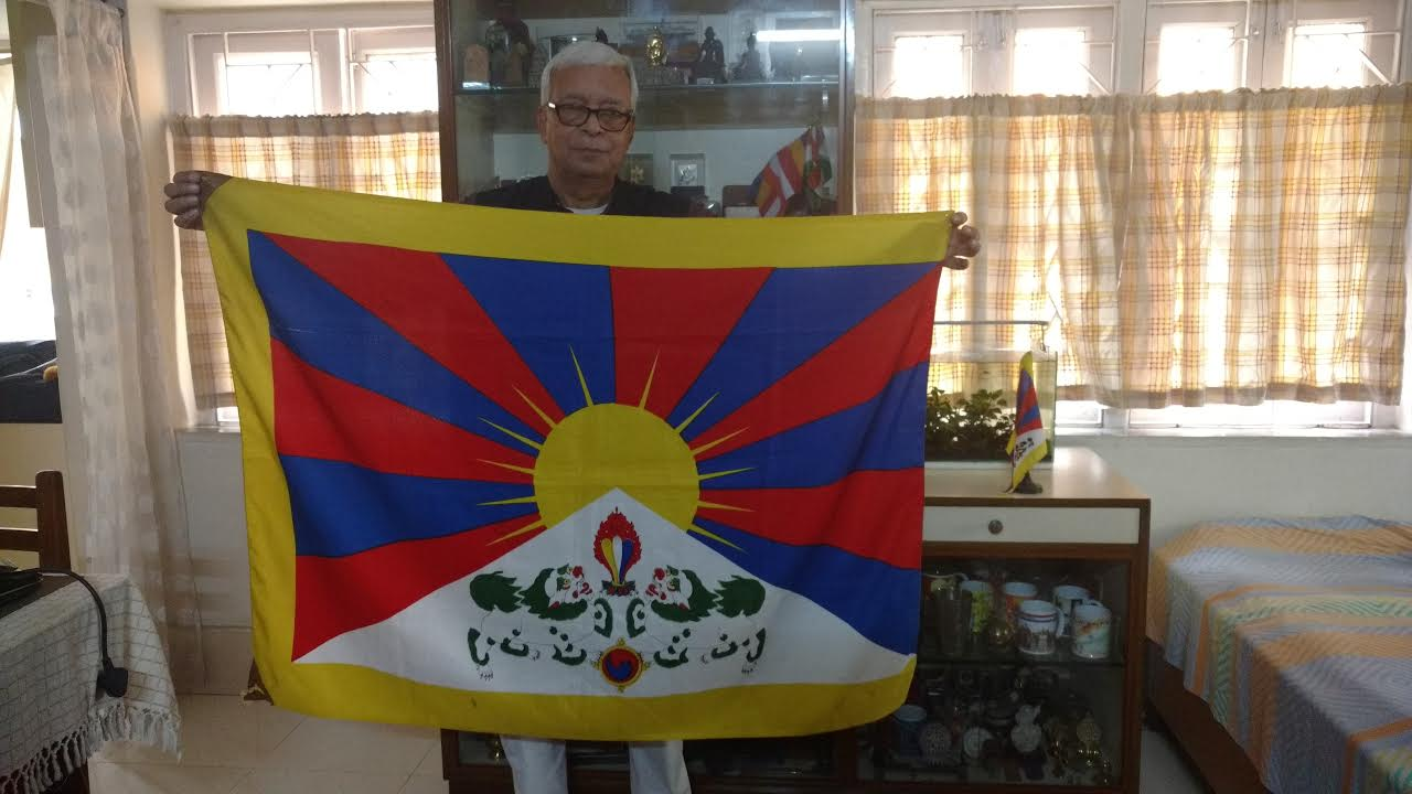 Flags And Stamps Tibet National Flag And Its Symbolism