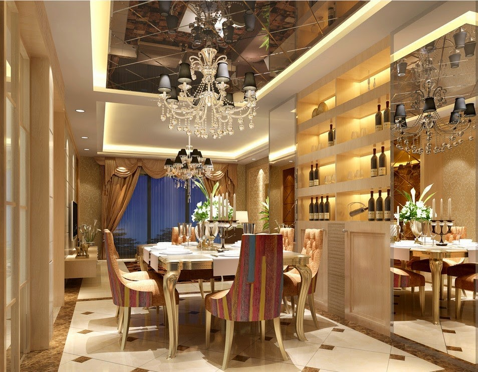 10 Modern Designs Of Luxurious Dining Rooms