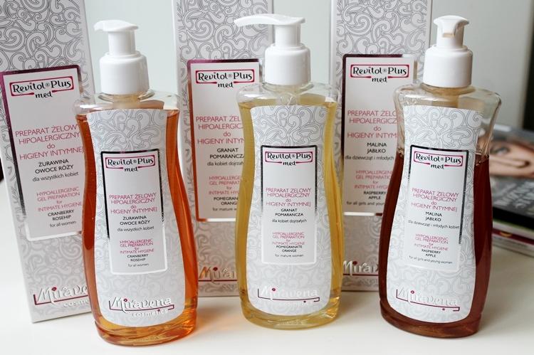 Pielęgnacja higieny intymnej - preparaty żelowe hipoalergiczne marki Miravena