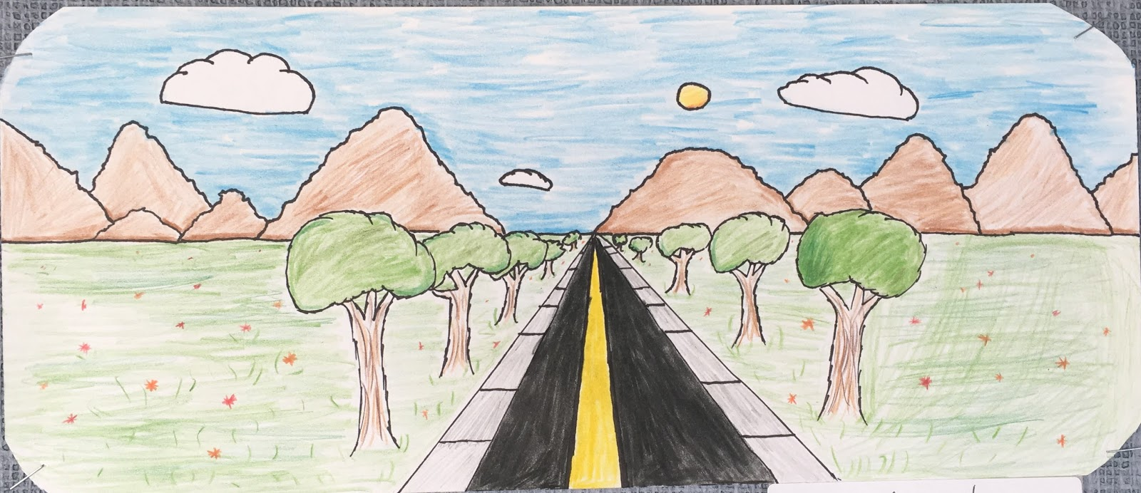 Mrs Wille S Art Room Rear View Mirror Drawings In 1