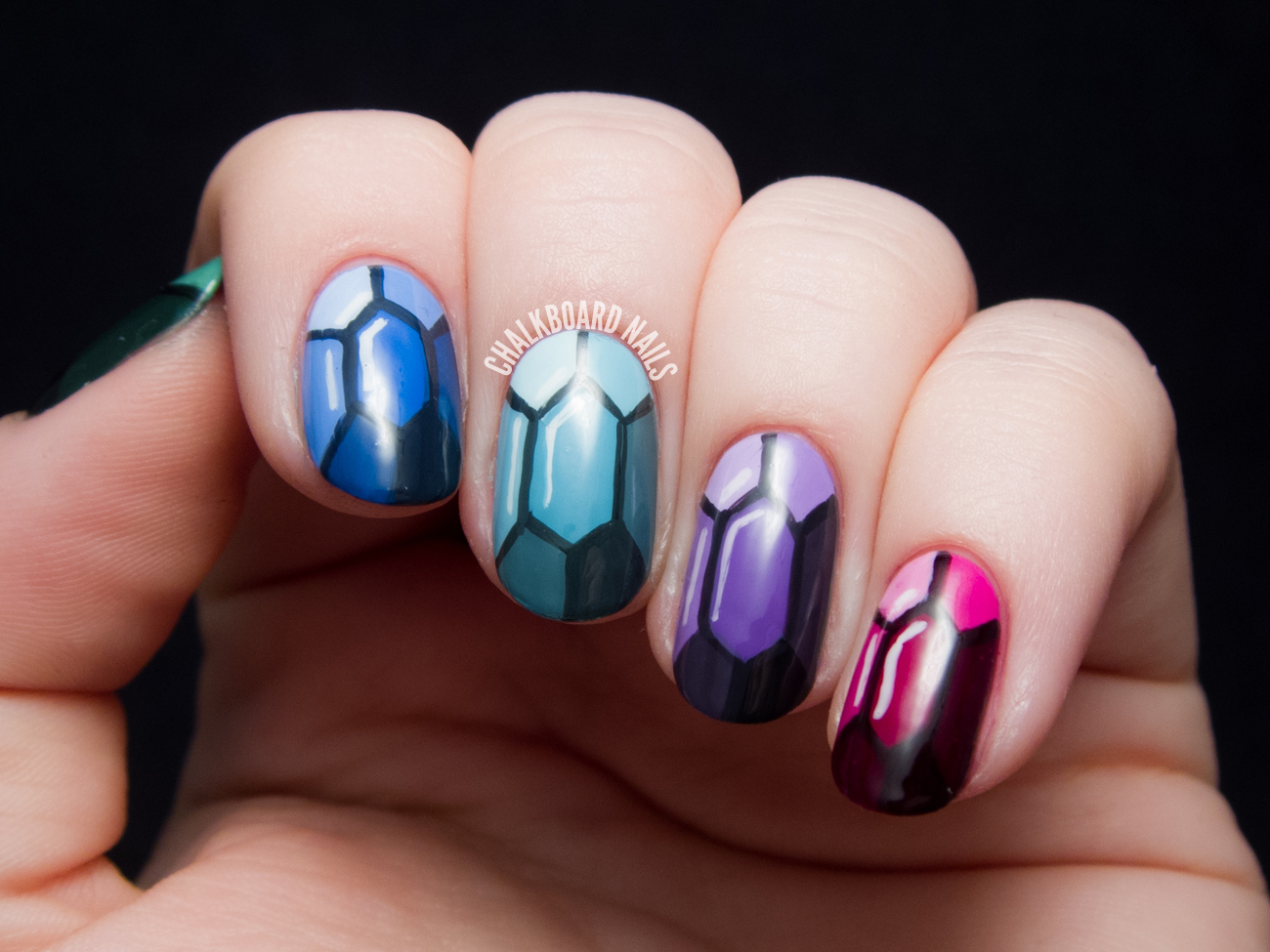 Nails Art: TUTORIAL: Precious Gems Nail Art Inspired By The Ring And