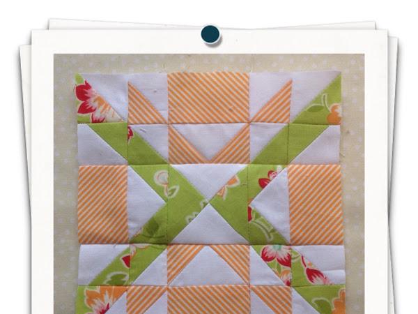 Chatelaine- Free BOW Sampler Quilt Block 75