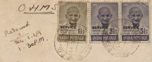 GANDHI STAMPS CLUB: Expensive India stamps - Rare Indian stamp ?