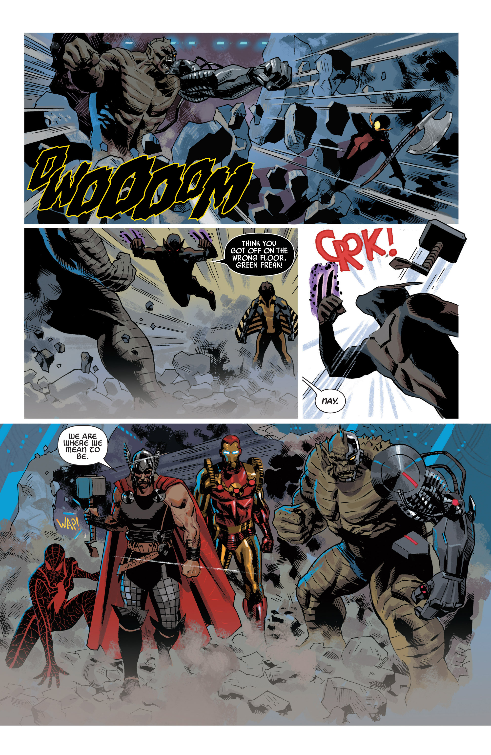 Read online Uncanny Avengers (2012) comic -  Issue #19 - 21