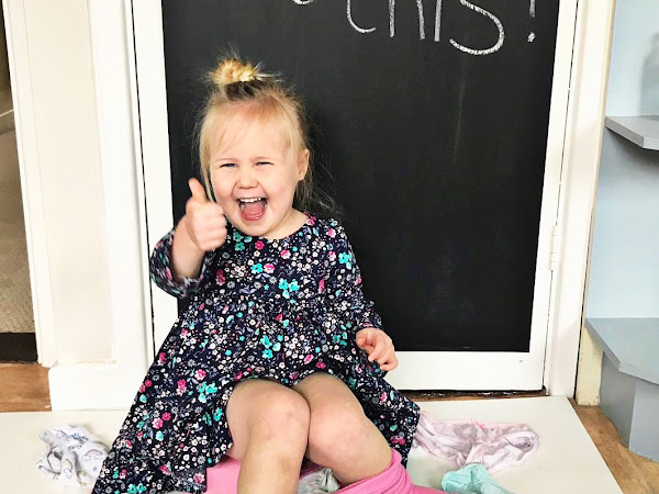 How We Potty Trained our Defiant 2 year old