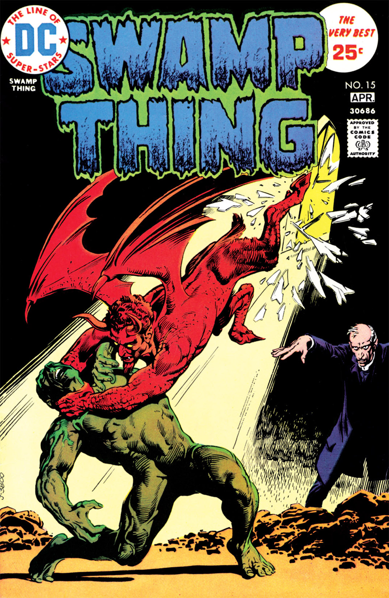 Swamp Thing (1972) Issue #15 #15 - English 1