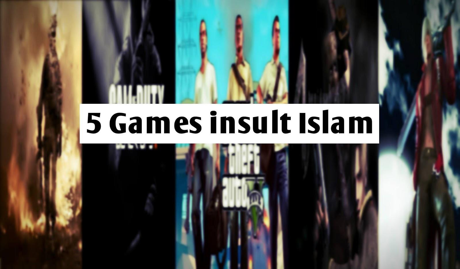 ٥ یاری کە سووکایەتی بە ئیسلام دەکات  – 5Games insult Islam