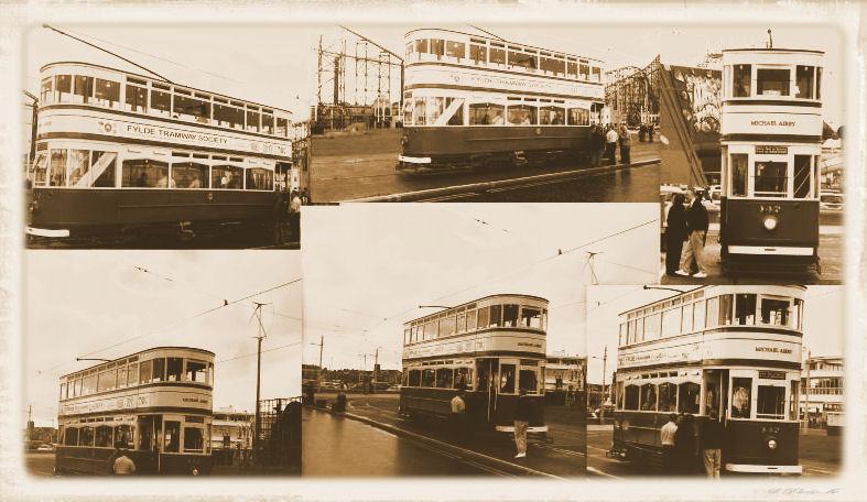 Blackpool Trams And The Standard 147: Blackpool Fun