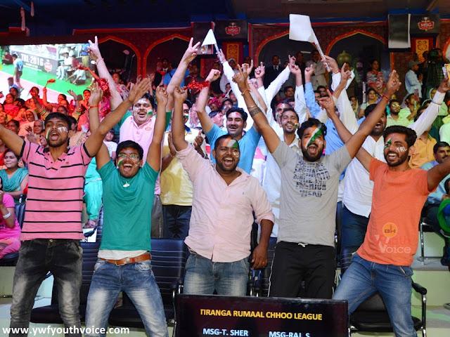 Tiranga Rumal Chhu - Day 6 Audience Pic excited for TRL final of MSG Toofani Sher vs MSG Delhi Ke Diler