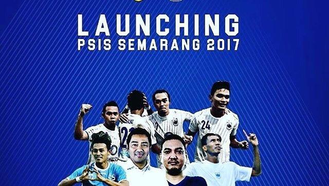 Launching Jersey Terbaru PSIS Semarang Liga 2 Musim 2017