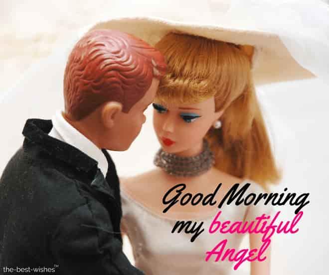 good morning my beautiful angel