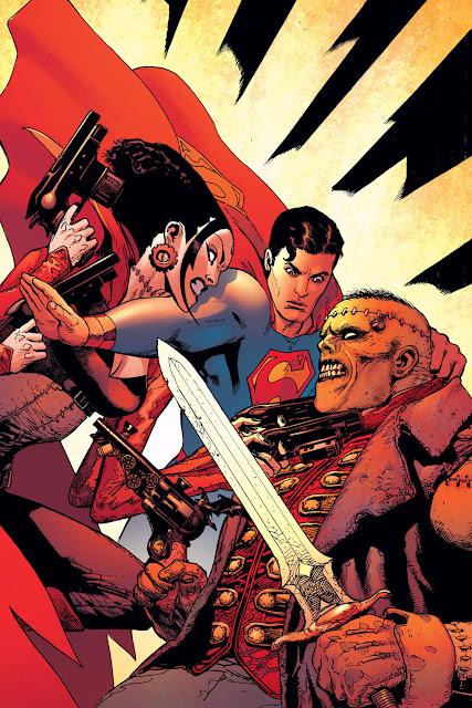 superman vs frankenstein