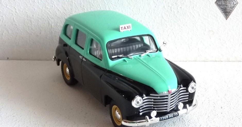 garage de poche jip renault colorale taxi 1951. Black Bedroom Furniture Sets. Home Design Ideas