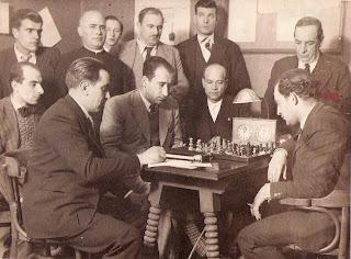 Partida de ajedrez del encuentro Doménech-Koltanowski en 1934