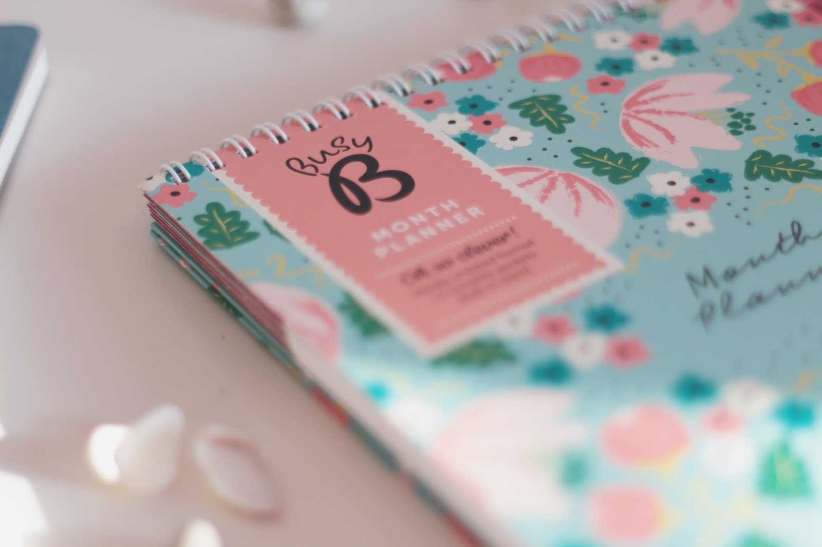 university stationery haul - busy b 12 month undated planner