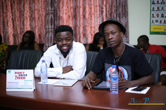 Photos: Nero X, KK Fosu appointed National Road Safety Icons in Ghana