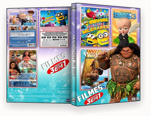 CAPA DVD – COLEÇÃO DESENHO DVD-R VOL 05 – ISO