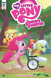 MLP Friends Forever #27 Comic by IDW Subscription Cover by Agnes Garbowska