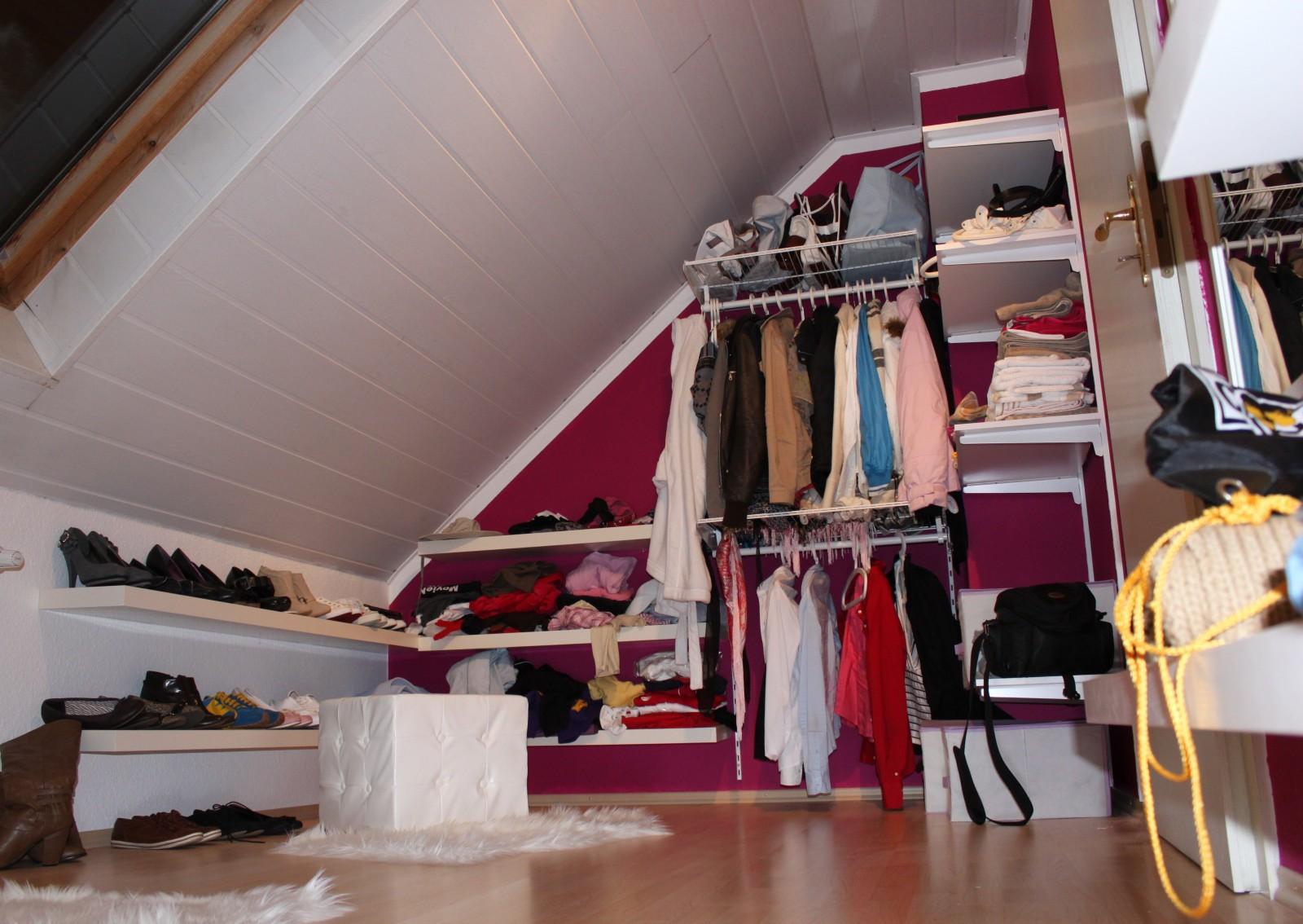 Ankleidezimmer Mit Dachschrage Home Creation