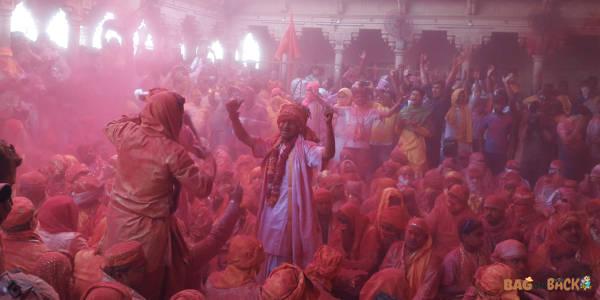 Holi In Barsana, बरसाना में होली