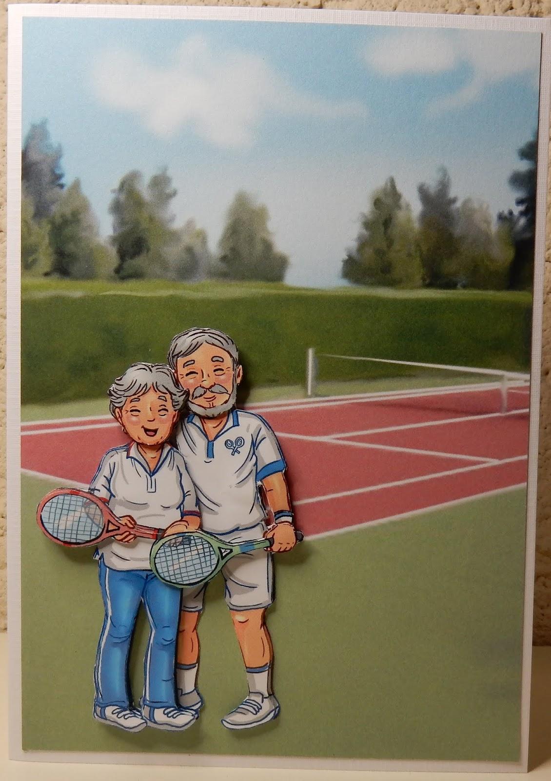 Genoeg Hetty's Knutselhokkie!: Yvonne Creations Funky Nanna & Grandpa &QO19