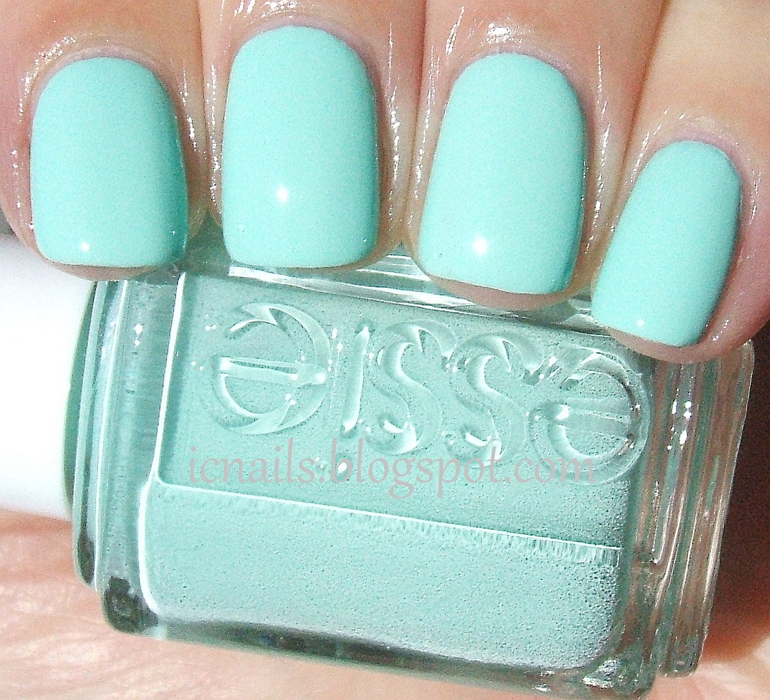 Essie Mint Candy Apple Swatch And Review Notes From My Dressing Table
