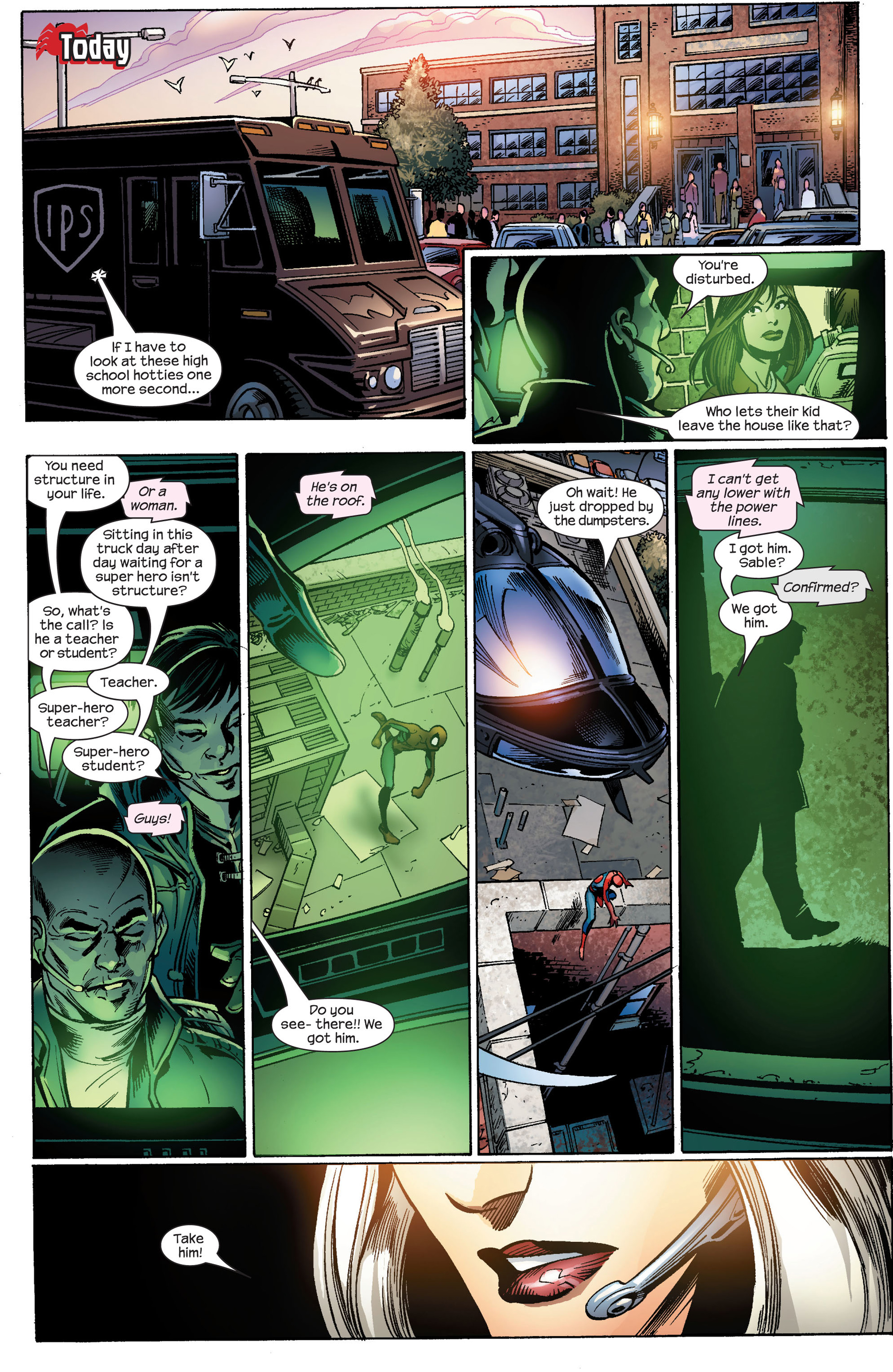Read online Ultimate Spider-Man (2000) comic -  Issue #86 - 18