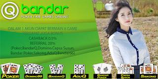 Bonus Agen Poker Online Terpercaya QBandar - www.Sakong2018.com