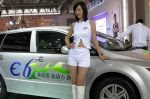 BYD displays an electric car. (Photo Credit: Alan Trotter via Flickr) Click to Enlarge.