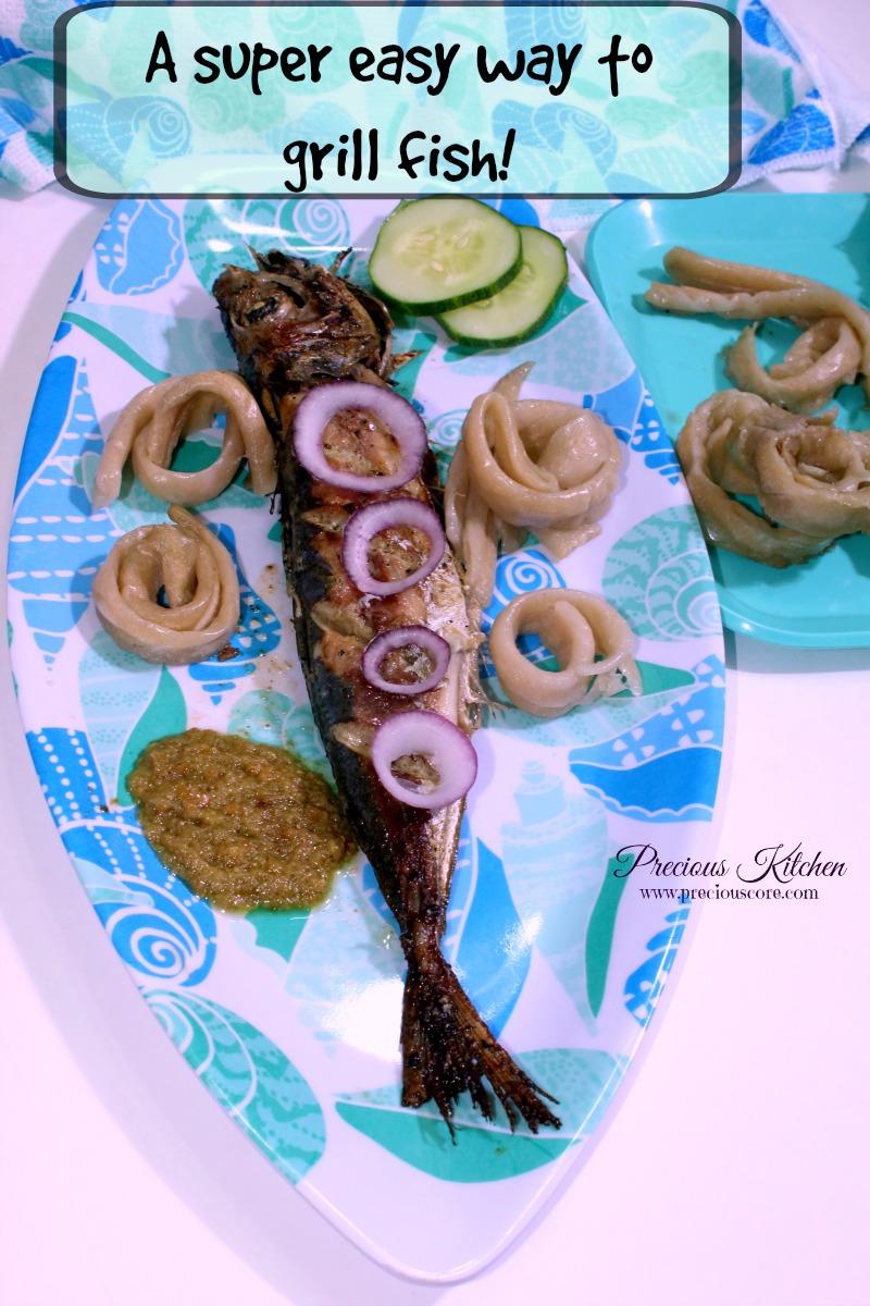 cameroon roasted fish easy method