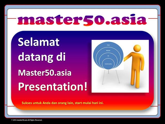 Master 50 Club Bukan Bisnis