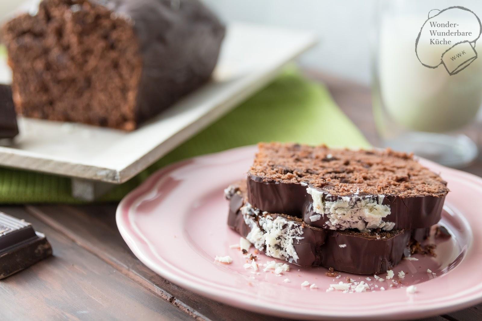 Schokoladen Buttermilch Kuchen Aus Der Kastenform