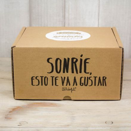 Caja sorpresa mr wonderful