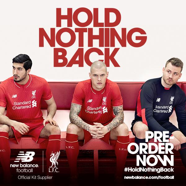 New Balance presenta la nueva camiseta del Liverpool