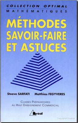 Télécharger Livre Gratuit Mathématiques - méthodes, savoir-faire et astuces pdf