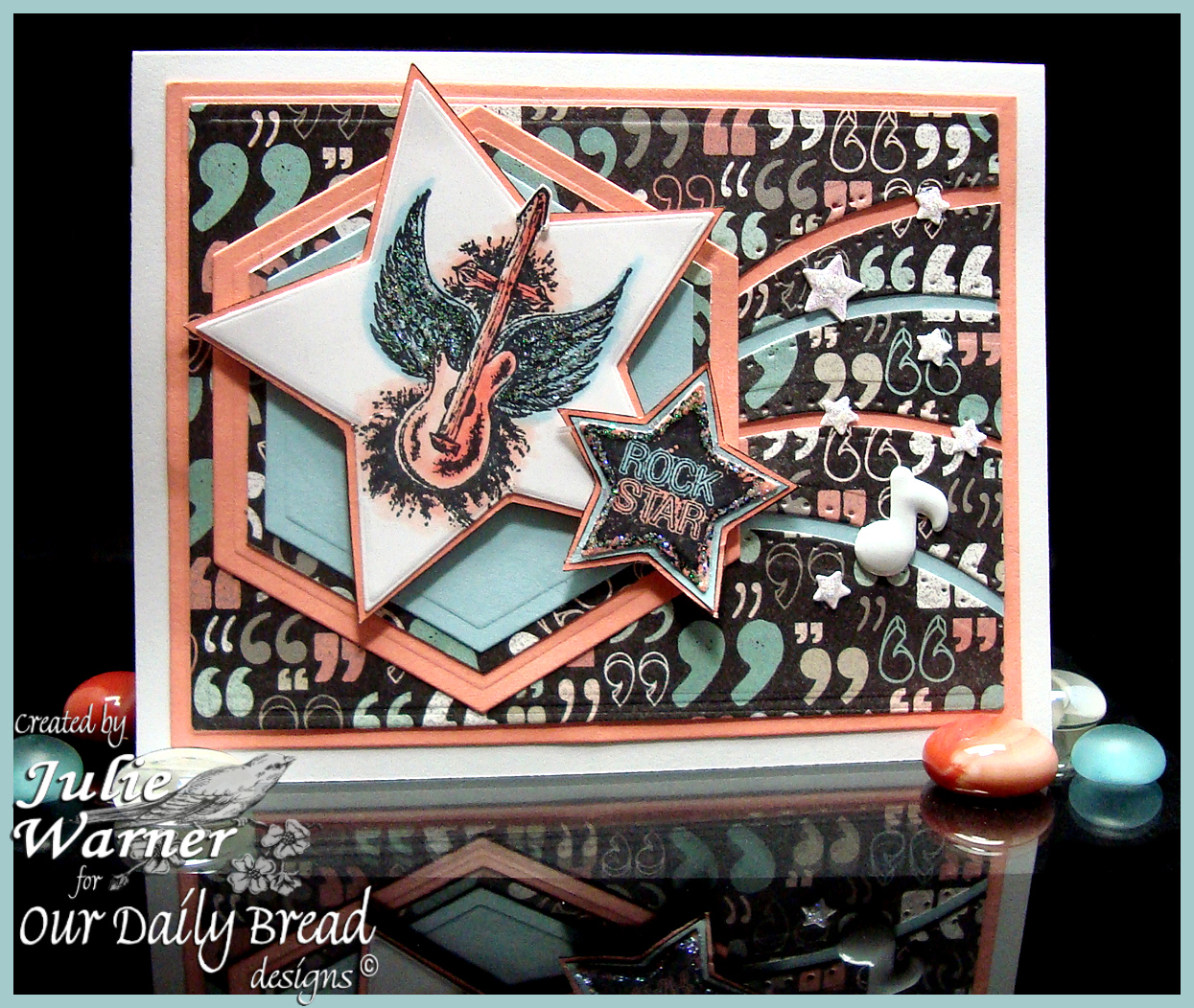 Stamps - Our Daily Bread Designs Rock Star, ODBD Custom Sparkling Stars Dies