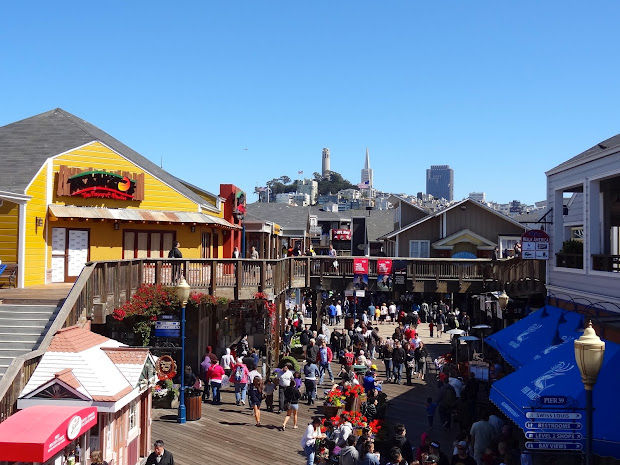 Pier 39 & Fisherman' Wharf - San Francisco World Of