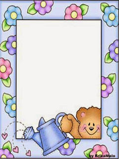 Free Printable Frames with Bears.