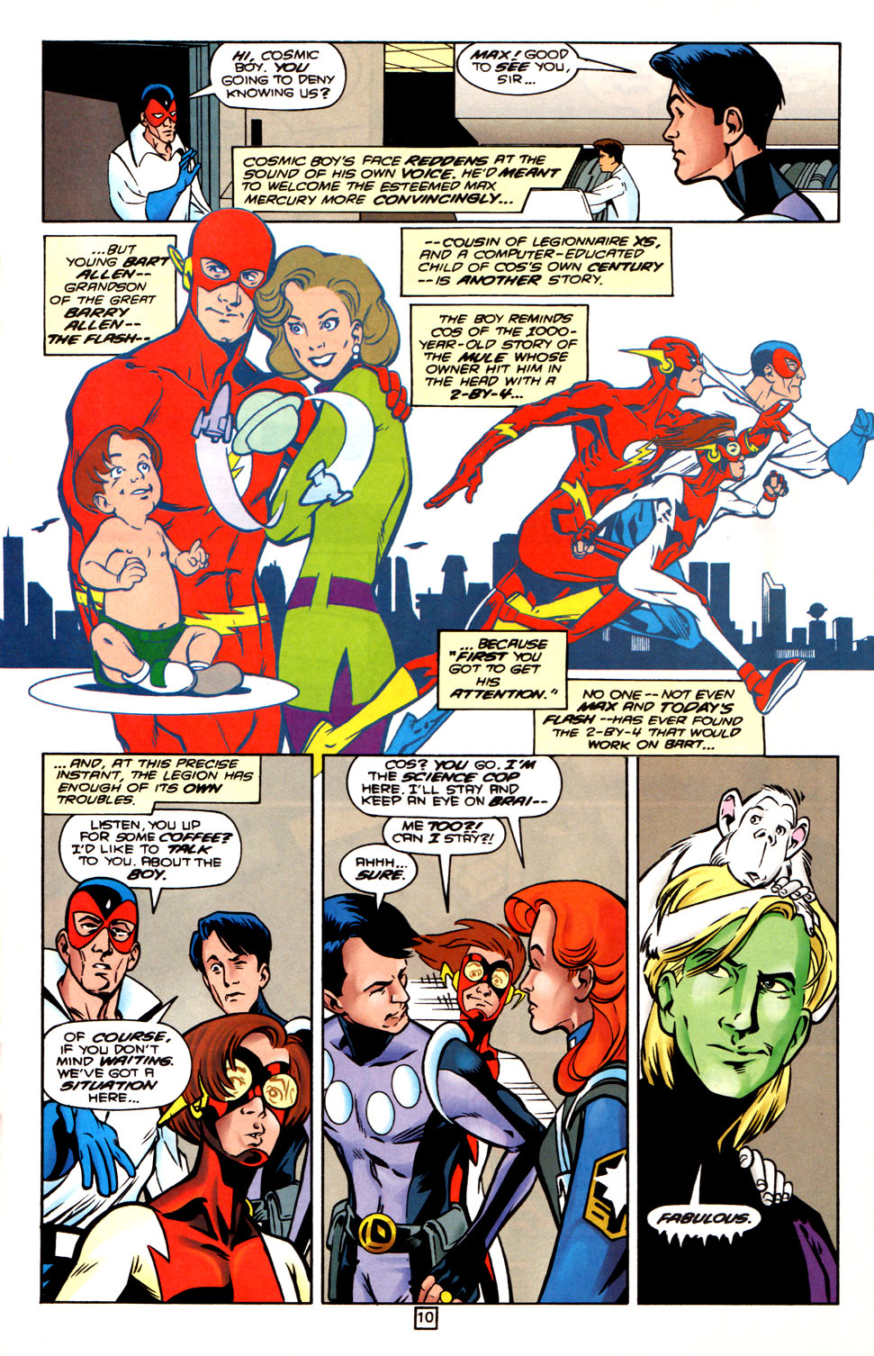 Legion of Super-Heroes (1989) 88 Page 10